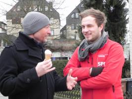 Die Kollegen tauschen sich aus... OV-Vorsitzender Volker Barth zu Gast in Senden!